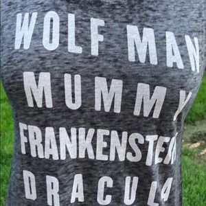 Monsters Sleeveless T-Shirt